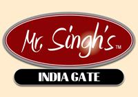 Mr Singhs India Gate Logo